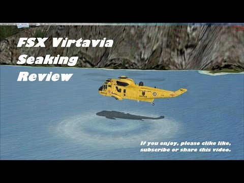 FSX Virtavia Seaking Helicopter review and opinion. (ex. Alphasim)