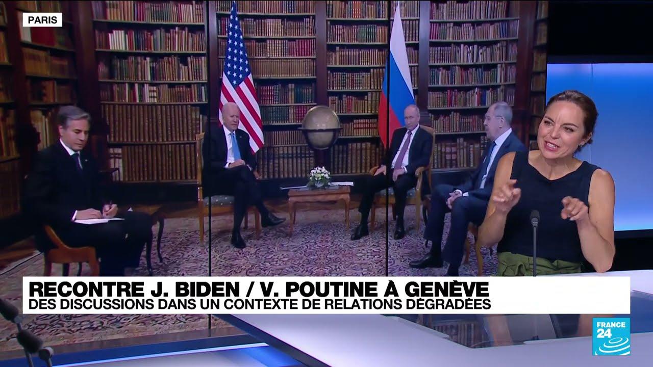 Rencontre Biden / Poutine : des discussions dans un contexte de relations dégradées