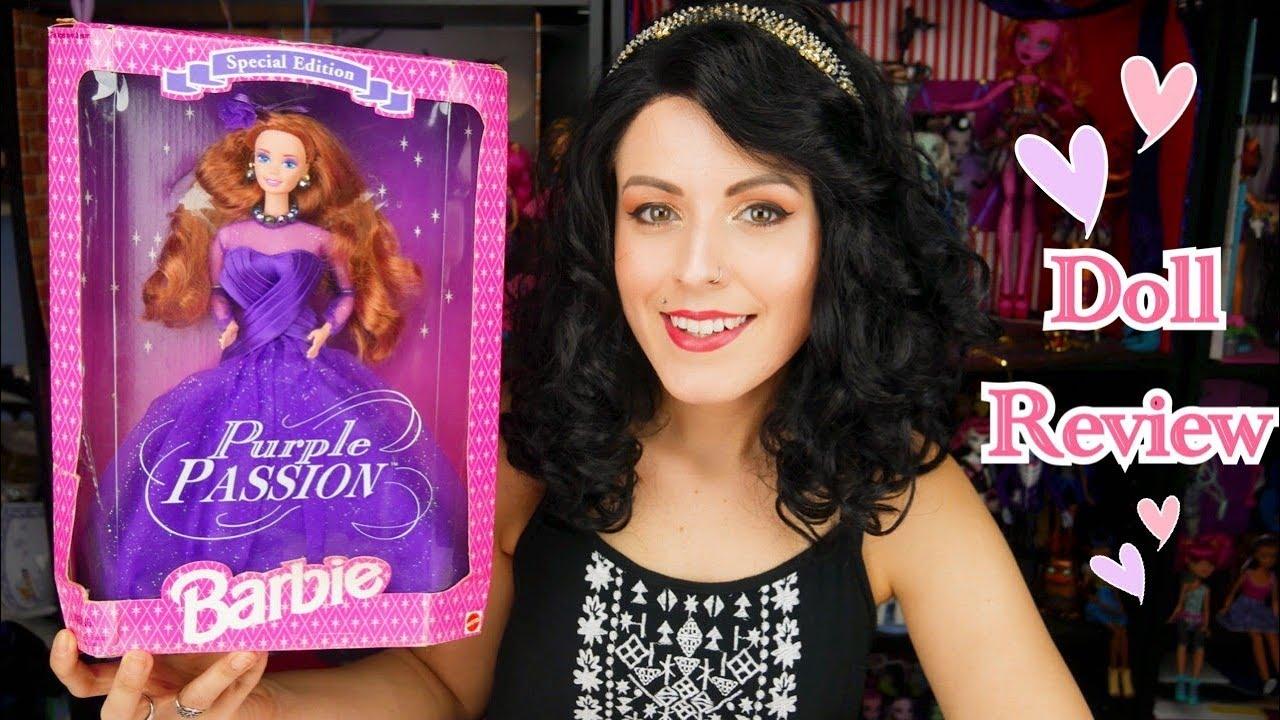 Barbie Purple Passion 1995 Mattel Vtg Doll