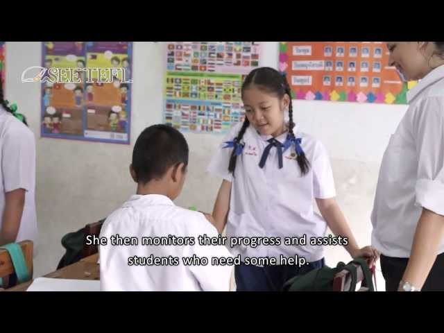 Production Stage of a PPP (3Ps) EFL Lesson with subtitles