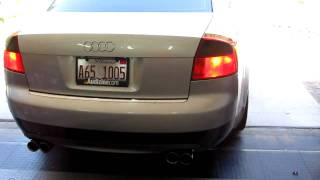 B6 A4 3.0 LED rear turn signal demo