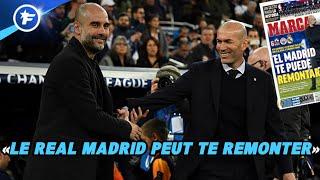 Pep Guardiola ouvre les hostilités pour le match retour face au Real Madrid | Revue de presse