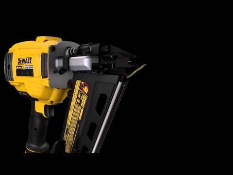 DeWalt - How to Clear a Jammed Nail from a Cordless Framing Nailer