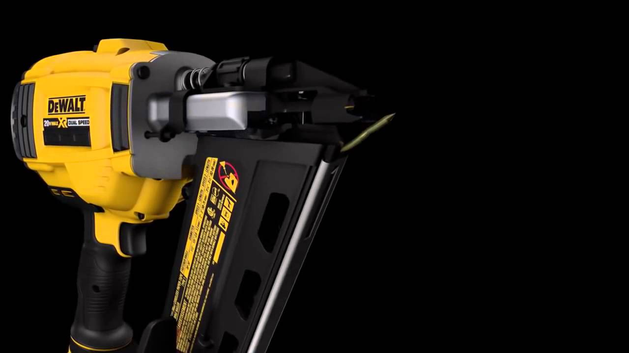 Dewalt How To Clear A Jammed Nail From A Cordless Framing Nailer