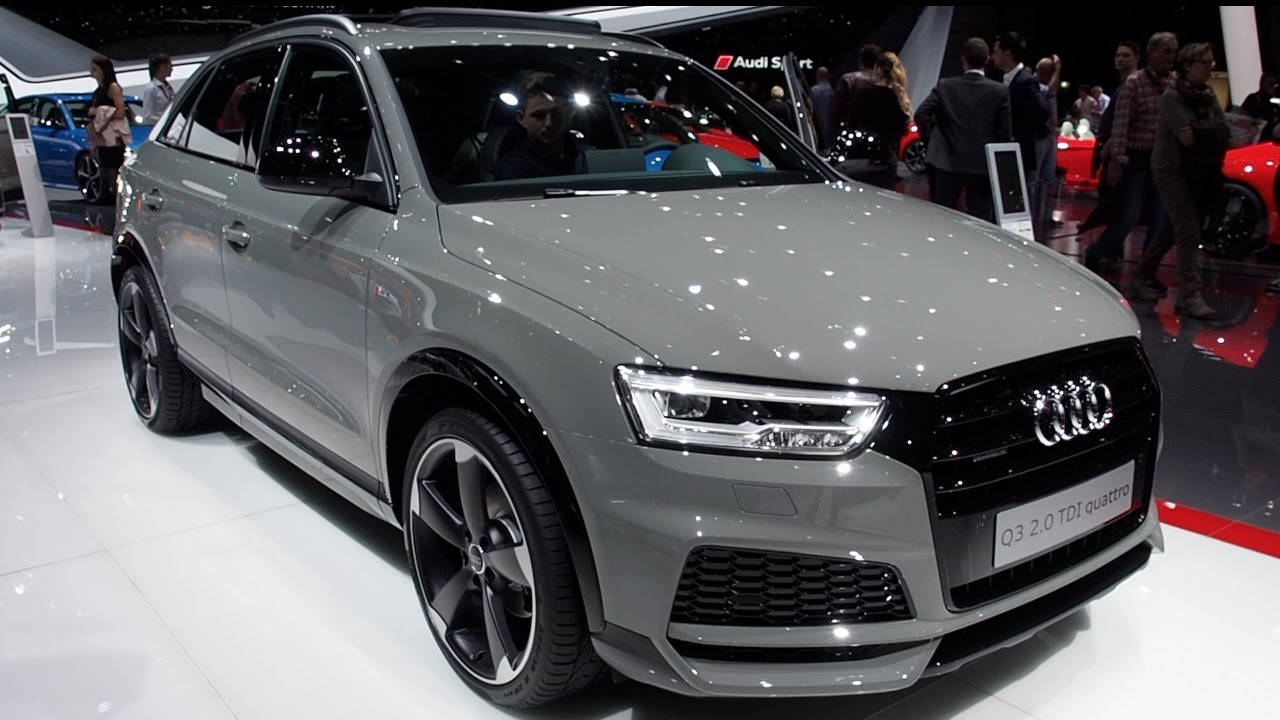 audi q3 2 0 tdi quattro 2017 in detail review walkaround interior exterior youtube. Black Bedroom Furniture Sets. Home Design Ideas