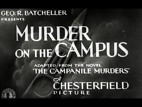 Mystery Movie - Murder On The Campus (1933)