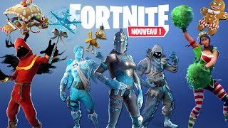 FORTNITE: All the next Skins, Dances. Christmas (MAJ 7.10)