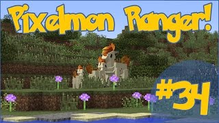 Pixelmon Ranger! Brohi's Forest Lessons! - Episode #34
