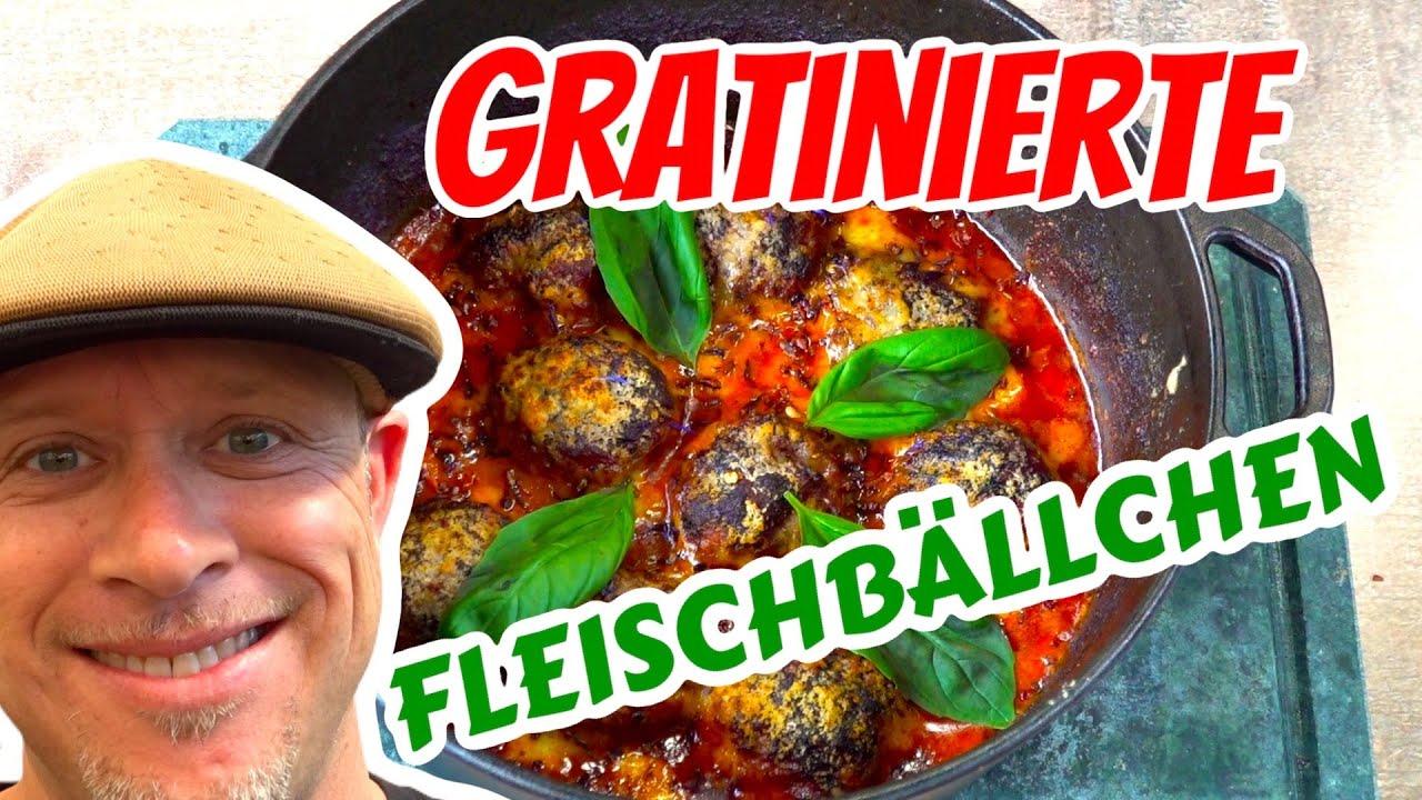 Gratinierte Fleischbällchen aus dem Dutch Oven | Polpette al Sugo | Grill & Chill / BBQ & Lifestyle
