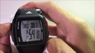 how to setup your adidas performance watch