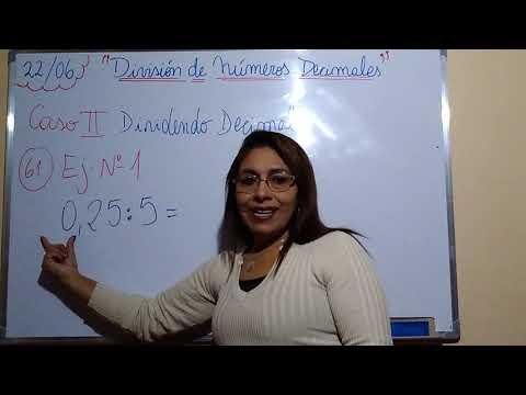 Multiplicación y división de números Racionales from YouTube · Duration:  7 minutes 13 seconds