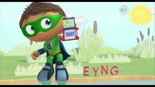 Repeat youtube video 009 Super Why    The Ugly Duckling