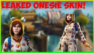 "*NEW* ""Onesie"" skin coming to Fortnite Item Shop! (Leaked!)"