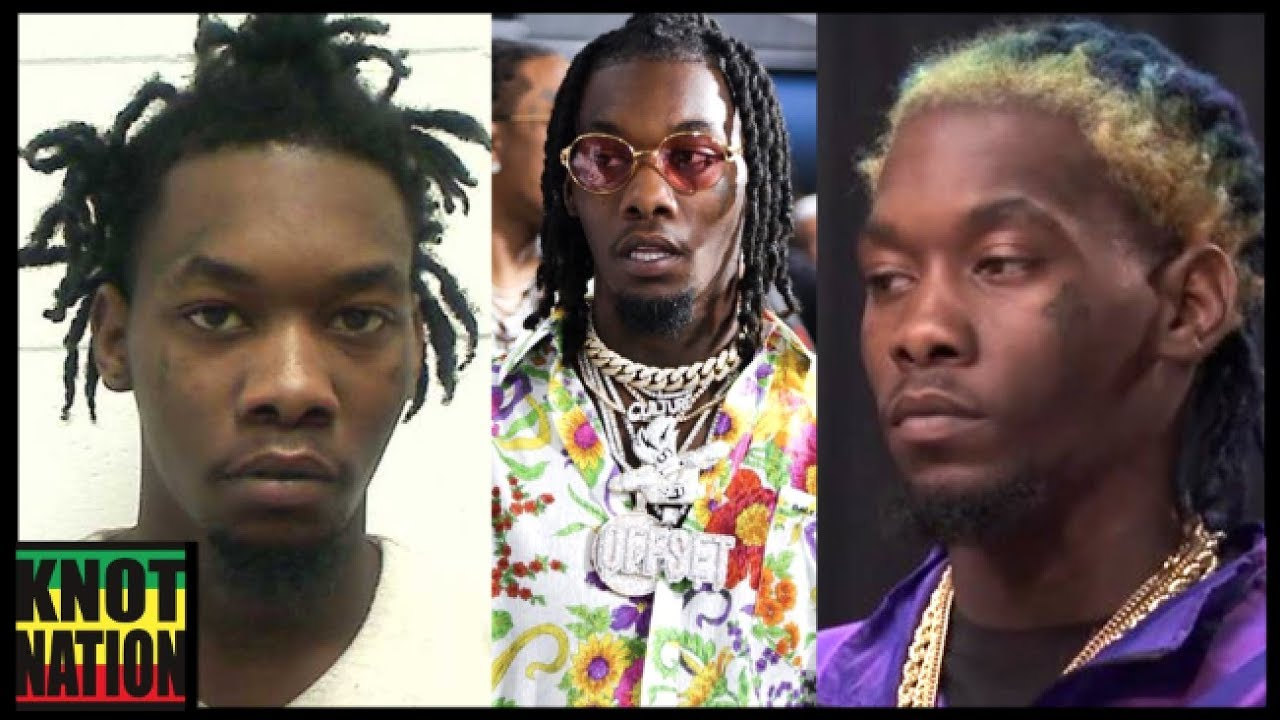 This Is Why Offset Got Cardi B Tattooed On His Neck: Evolution Of Offsets Dreadlocks Of Migos
