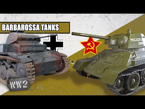 The Tanks of Operation Barbarossa - WW2 Special