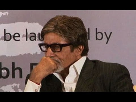 Big B suffering from pain