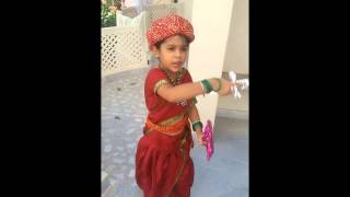 School Fancy Dress Compe Ion Jhansi Ki Rani Poem