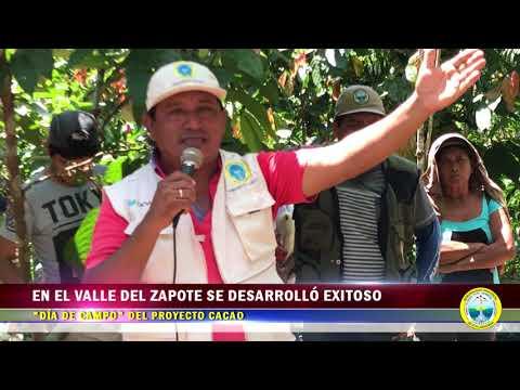 """EN EL VALLE DEL ZAPOTE SE DESARROLLÓ EXITOSO """"DÍA DE CAMPO"""" DEL PROYECTO CACAO"""