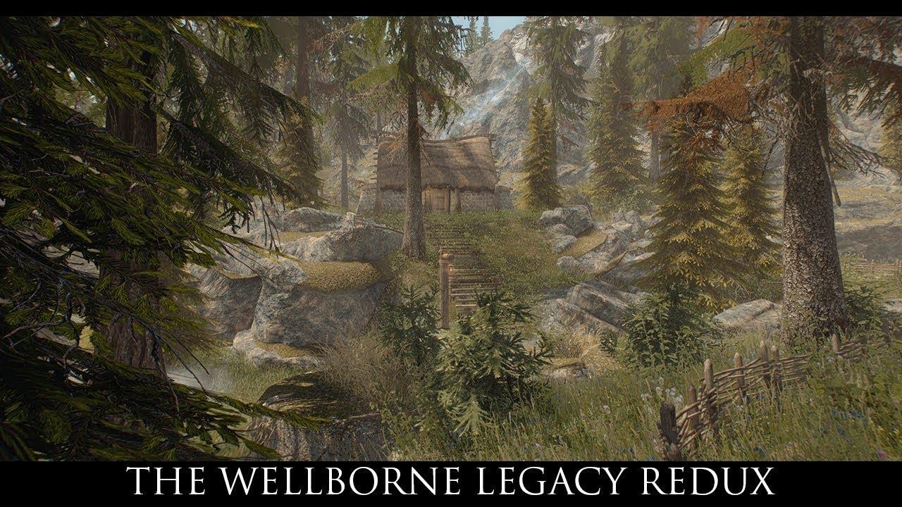Skyrim SE Mods: The Wellborne Legacy Redux
