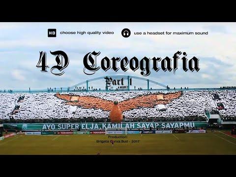 Brigata Curva Sud: Coreo 4D  PSS Sleman vs Persipura Jayapura - Presiden Cup (Part 1)