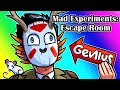 Mad Experiments Escape Room Funny Moments - The Delirious Code!