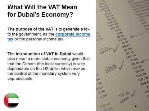 Value Added Tax in Dubai