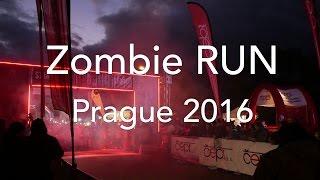 Night Marathon Zombie RUN, Prague 2016 (4K, airview)