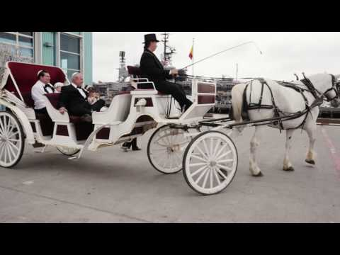 Spectacular Port Pavilion on Broadway Pier Wedding HD