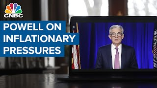 Fed chair Jerome Powell: Inflation is set to increase, but likely temporary