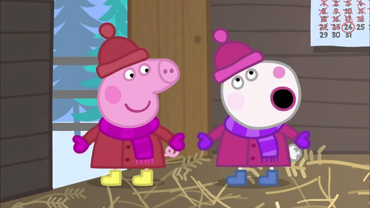 Peppa pig hd a cabana do papai noel youtube - Peppa cochon noel ...