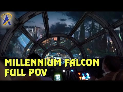 Full Millennium Falcon: Smugglers Run POV in Star Wars: Galaxy's Edge