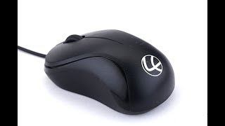 lapcare jerry m106 optical usb mouse unboximg