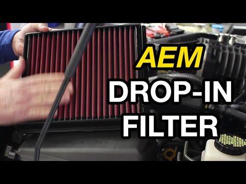 Nissan Xterra/Frontier/Pathfinder AEM DryFlow Air Filter