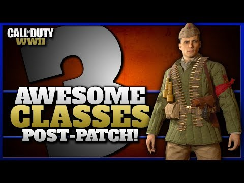 3 Awesome Classes that were Underwhelming Before the Patch! (CoD WW2)