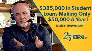 $385,000 In Student Loans Making Only $50,000!