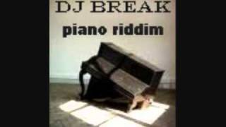 piano riddim dj break