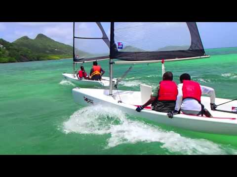L'Esterre Junior Sailing School - Carriacou MAY 2013