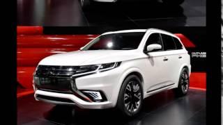 Новинка 2016 Mitsubishi Outlander Facelift Мини обзор комплектации, экстерьера и салона. Хит смотреть