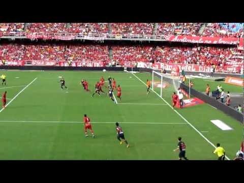 Falcao Amazing goal! Atlético de Madrid vs América de Cali (Fifa Puskas Award Finalist)