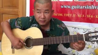 [Hướng dẫn] Em về kẻo trời mưa - guitar solo - phần 2