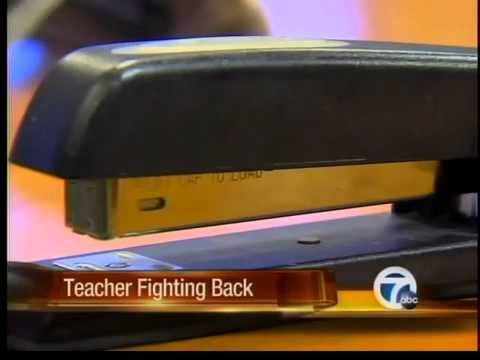 Detroit teacher fights for his reputation