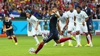 France Vs Honduras 3-0 World Cup 15.06.2014 HD / Франция - Гондурас 3-0 15.06.2014