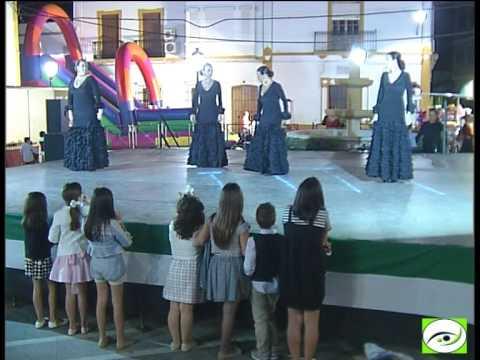 Actuación de la Academia de Baile Flamenco de Salvador y Rosa, X Semana Cultural