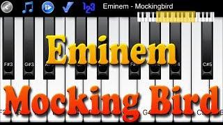 Eminem - Mockingbird - How to Play Piano Melody