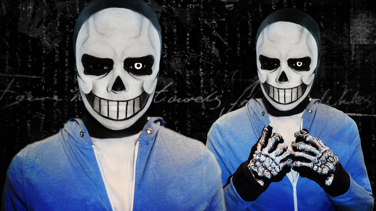 Sans , Undertale , Makeup Tutorial!