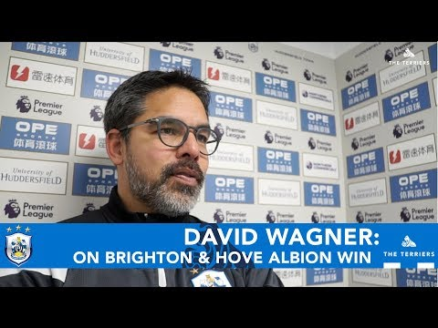 WATCH: David Wagner spoke to HTTV after Brighton & Hove Albion win
