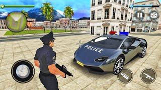 Police Crime Simulator 2021-Police Lamborghini Car Driving-Android 게임 플레이
