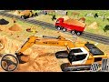 City Mega Construction Simulator Vehicles | Excavator, Crane Road Builder - Android GamePlay