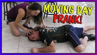 MOVING DAY PRANK! | We Are The Davises