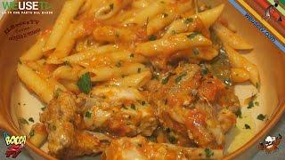 257 - Coniglio con le penne...quarcheduno dice svenne (piatto unico a base di carne facile e buono)